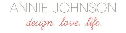 Annie Johnson   Design Love Life