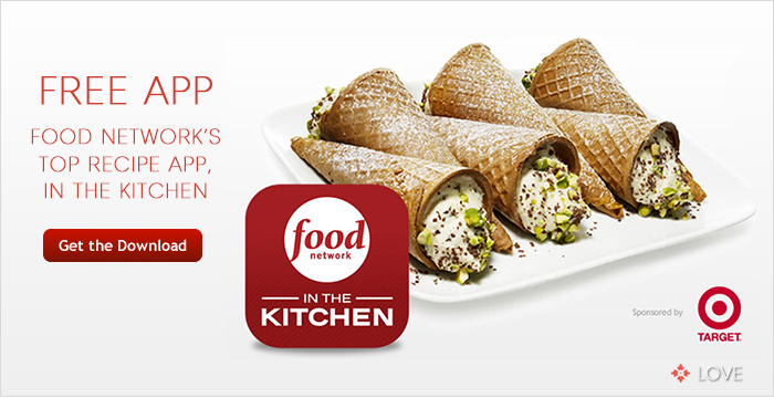 Free food network recipe app annie johnson design Food network recipes