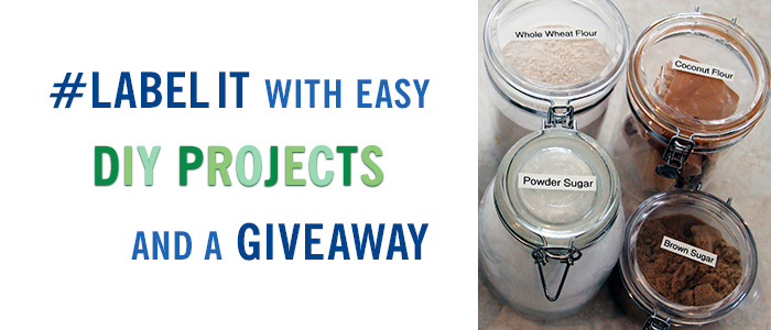 #LabelIt with Easy DIY Projects + a Giveaway!!