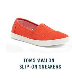 TOMS 'Avalon' Slip-On Sneakers