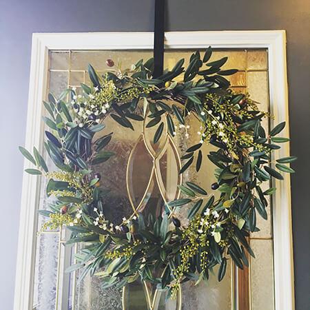 DIY – Front Door Wreath How to