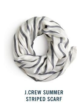 J.Crew Summer Striped Scarf