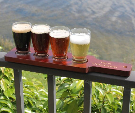 Personalized Beer Flight Set | Annie Johnson. Design Love Life
