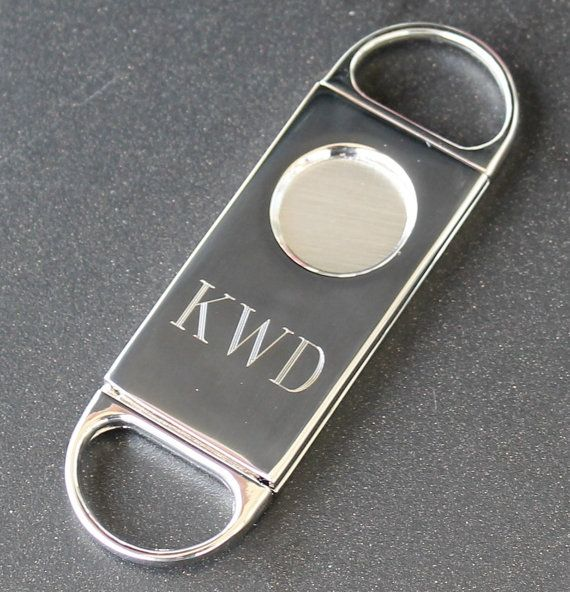 Personalized Cigar Cutter  | Annie Johnson. Design Love Life