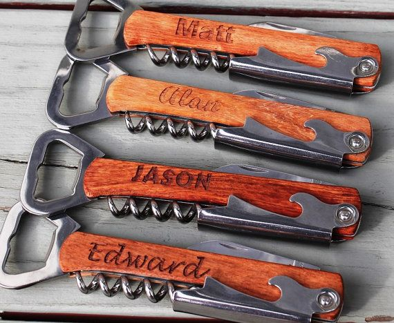 Personalized Corkscrew Multi Tool. | Annie Johnson. Design Love Life