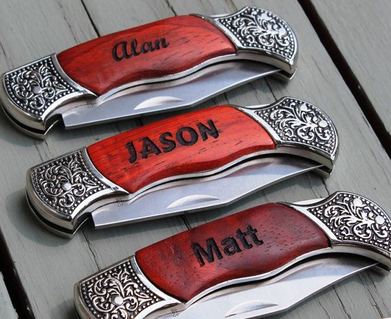 Personalized Pocket Knife | Annie Johnson. Design Love Life