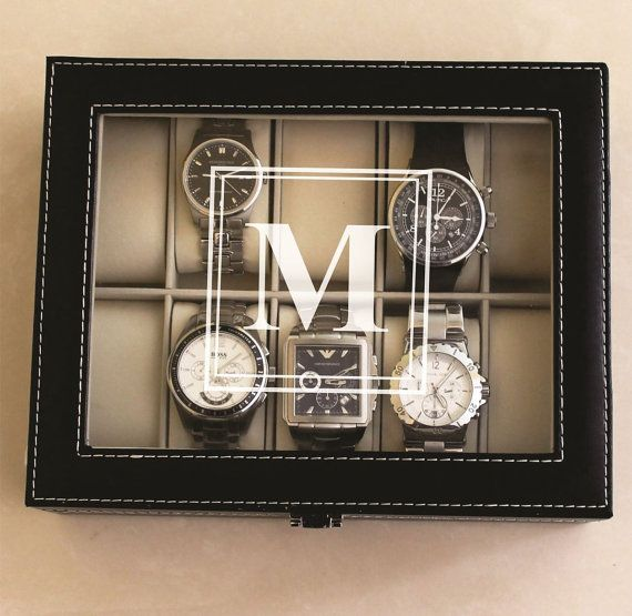 Personalized Watch Storage Box | Annie Johnson. Design Love Life