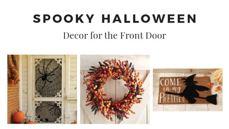 Halloween Decor Finds for the Front Door
