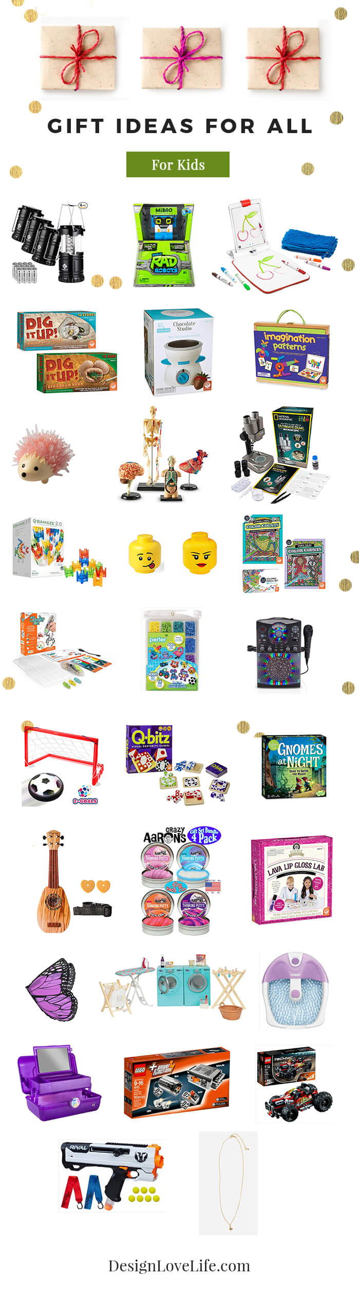 Gift Ideas For Kids - Design Love Life Blog
