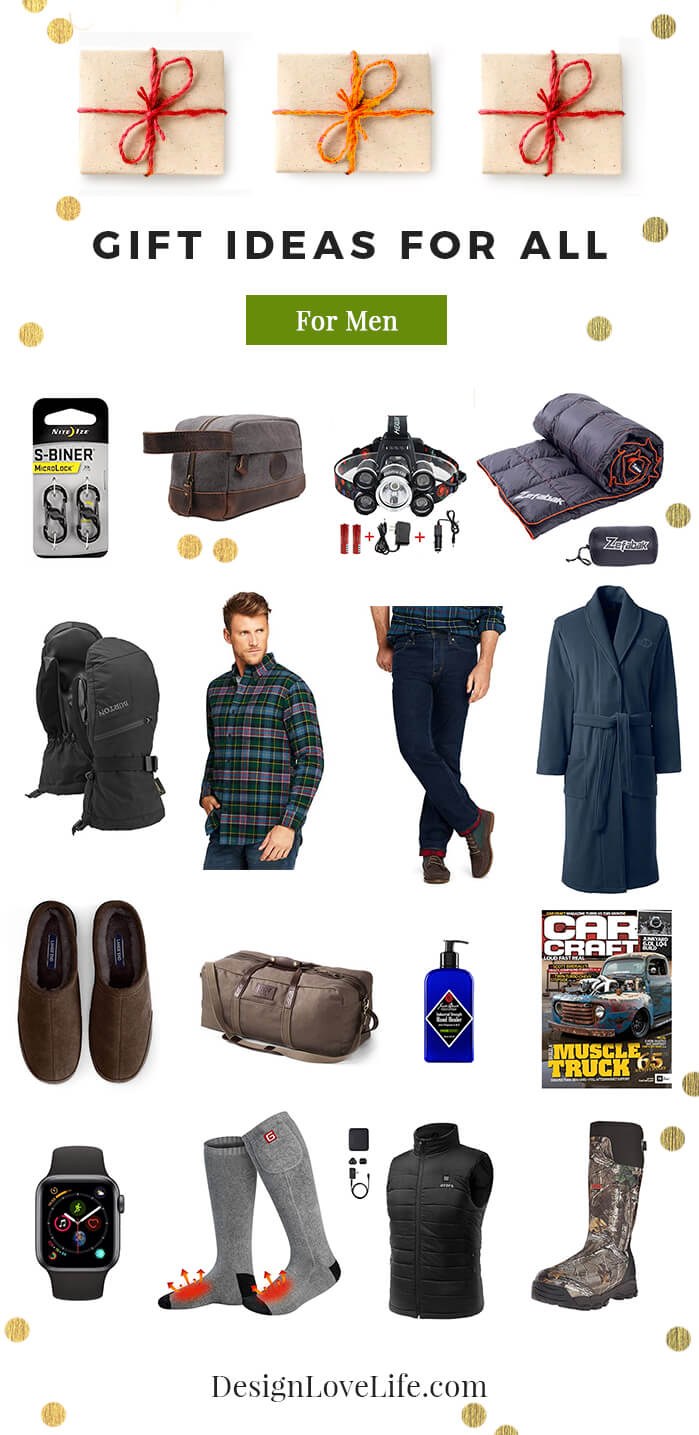 Gift Ideas For Men - Design Love Life Blog