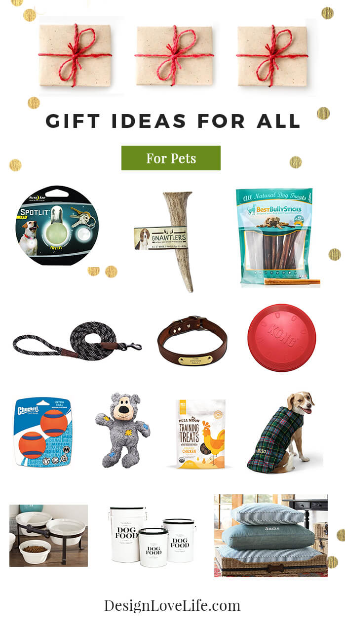 Gift Ideas For Dogs - Design Love Life Blog