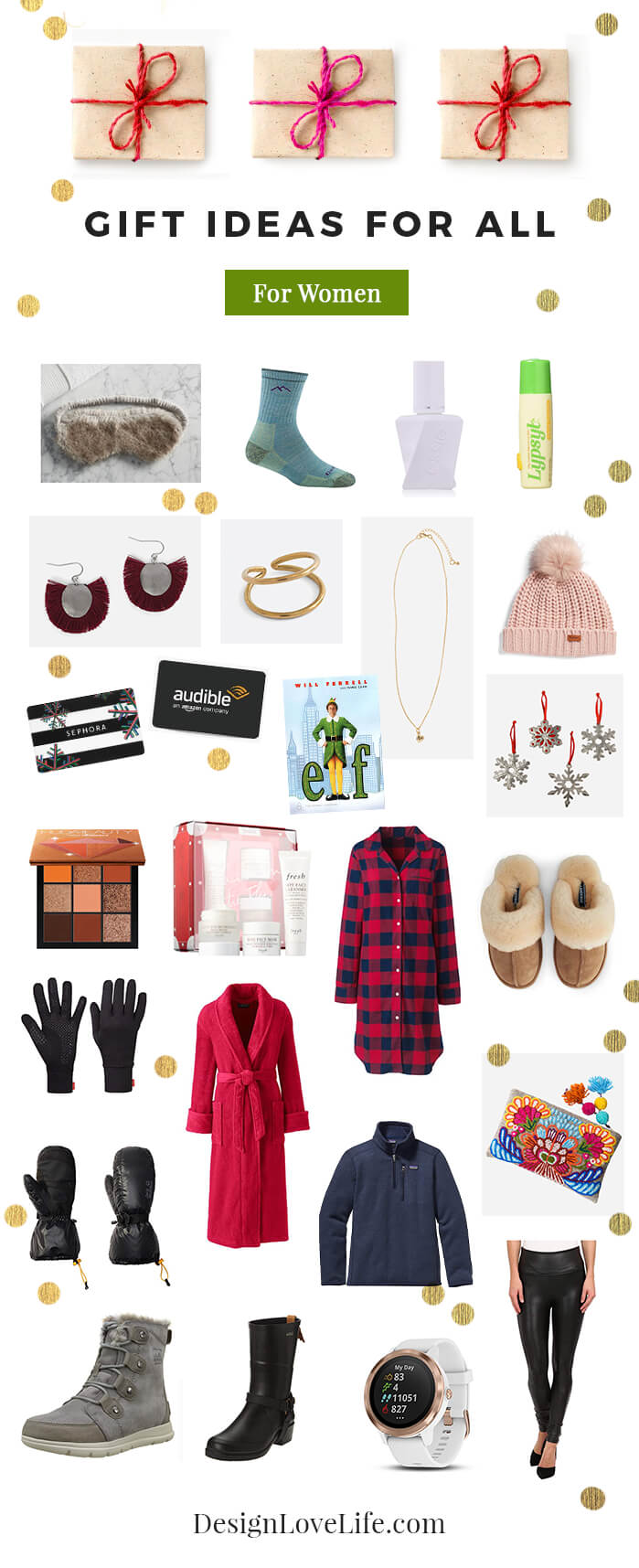 Gift Ideas For Women - Design Love Life Blog