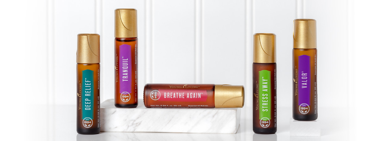 Young Living Oil Roll On Set