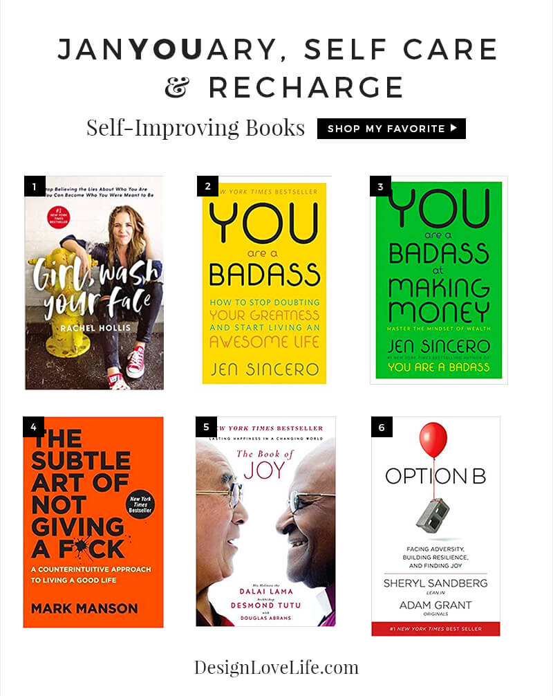 JanYOUary Self Care Recharge - Annie Johnson Design Love Life