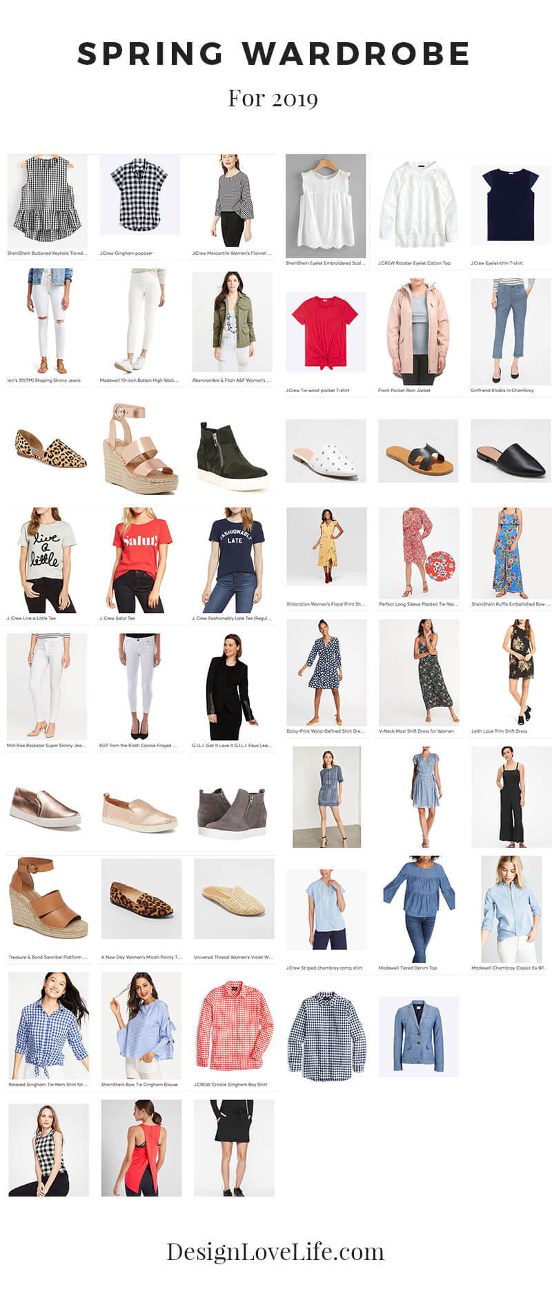 Spring Wardrobe 2019