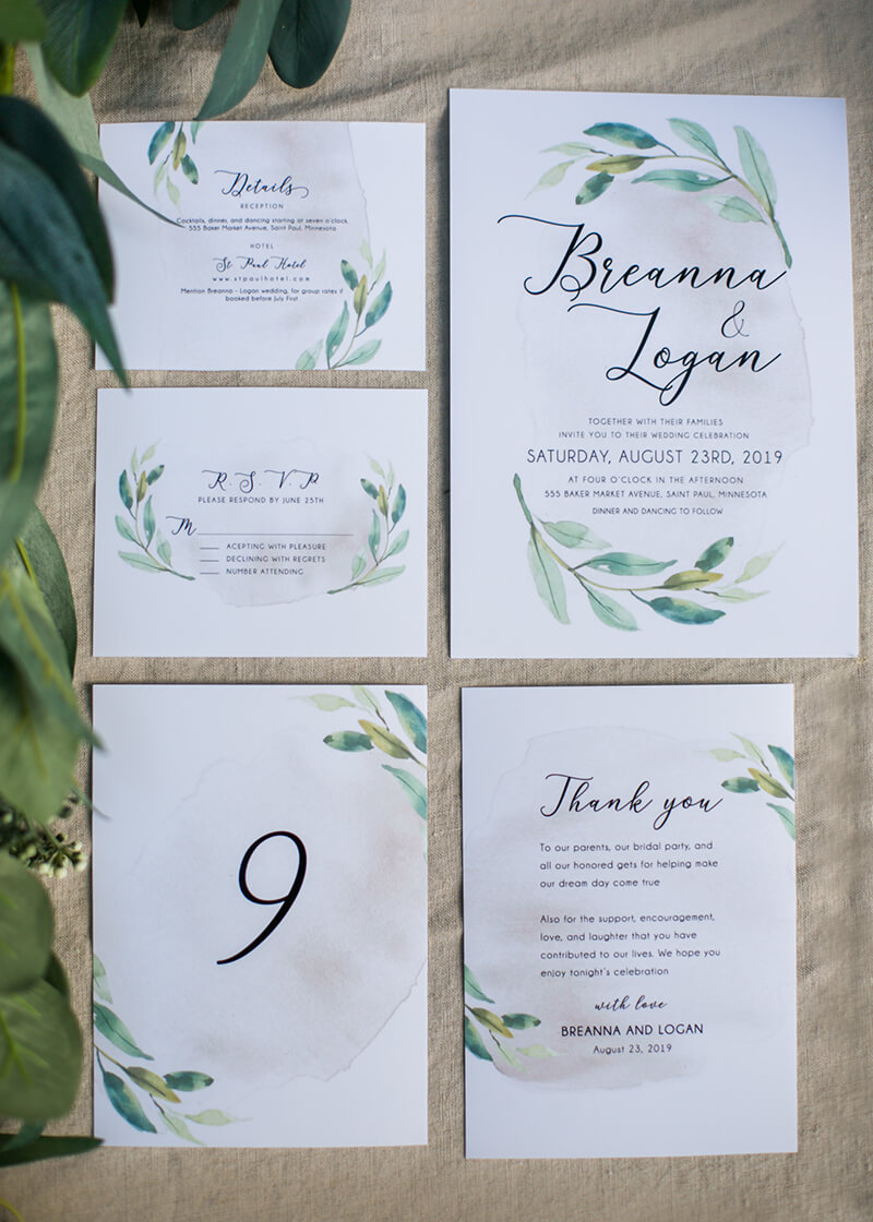 Last-Minute Wedding Ideas, Wedding Stationary