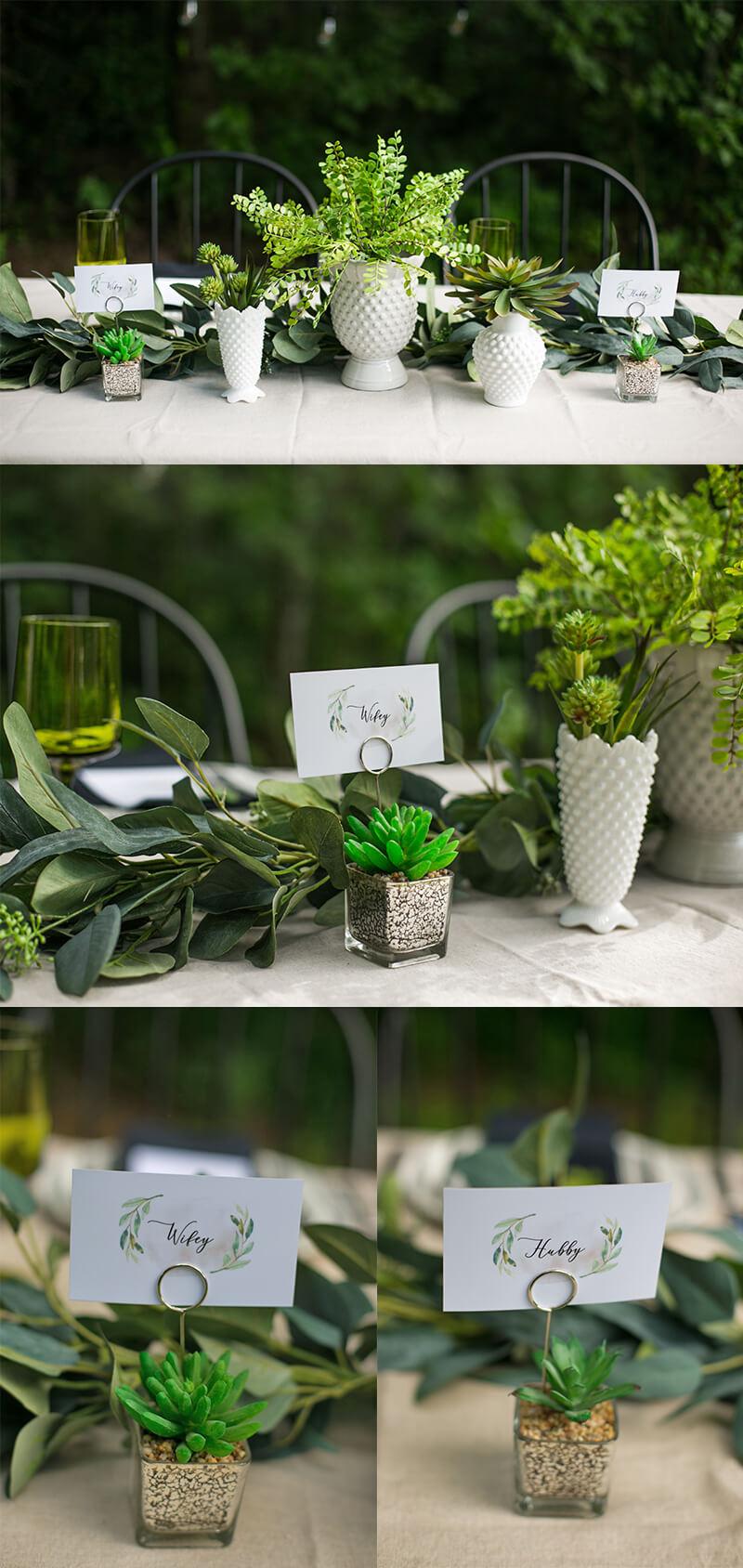 Last-Minute Wedding Ideas, Head table