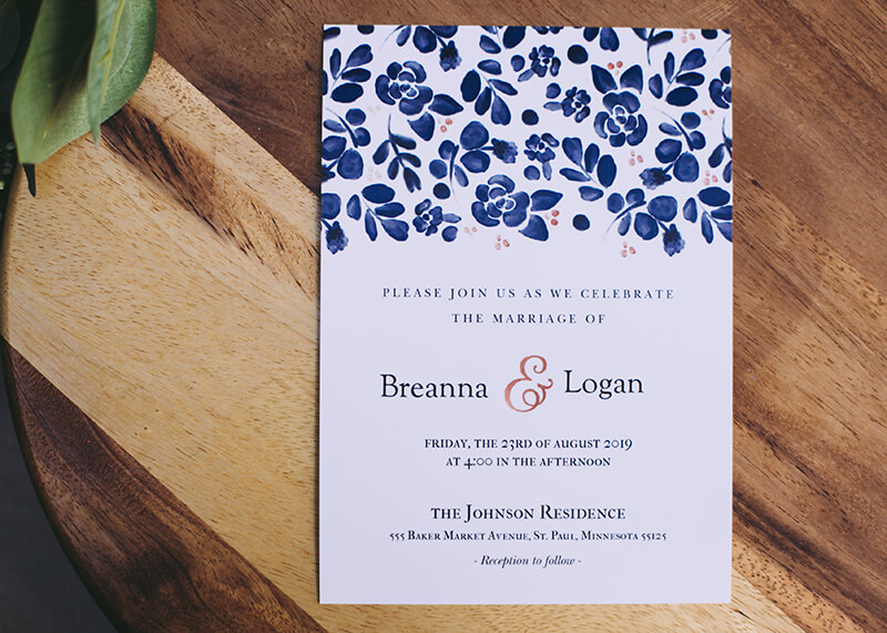 Last-Minute Wedding Ideas, Invitations