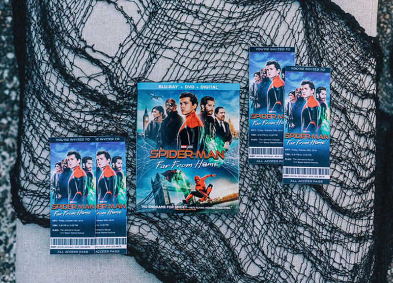 Spider-Man: Far From Home Blu-Ray & Movie Theater Party Tickets