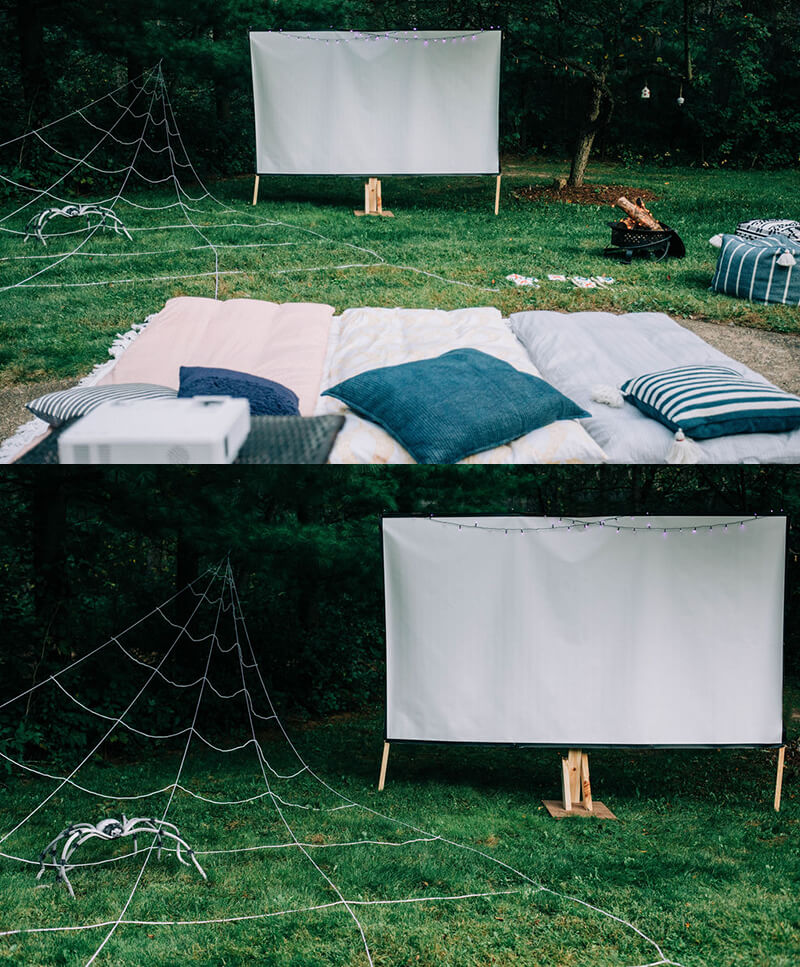 Outdoor Spider-Man: Far From Home Movie Night