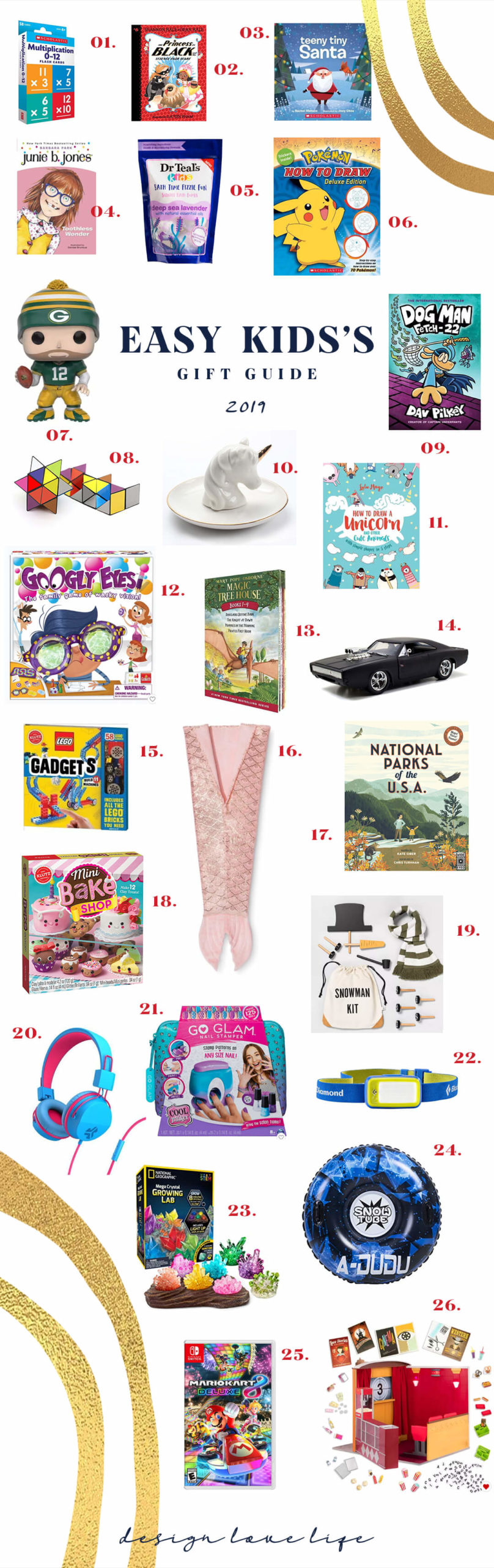 Easy Kid's Gift Guide for last minute ideas