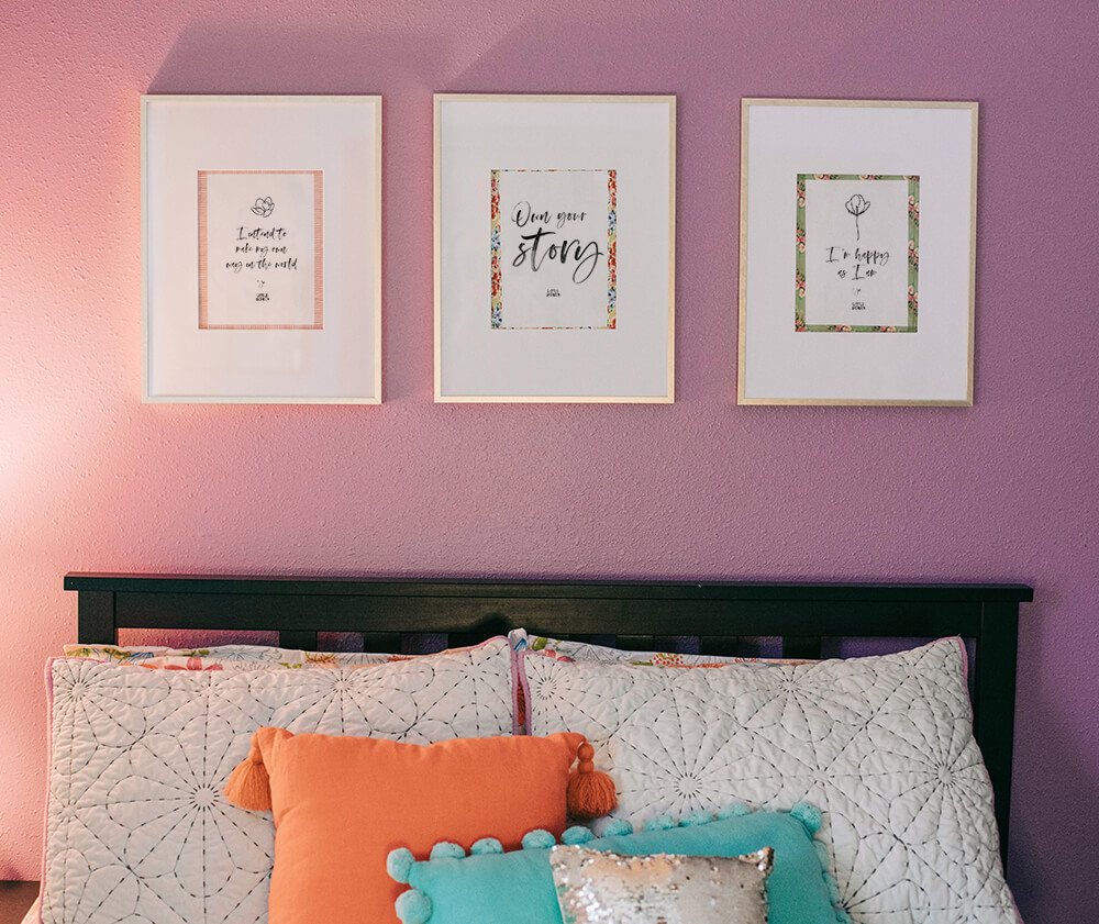 Little Women movie quotes framed - Annie Johnson, Design Love Life
