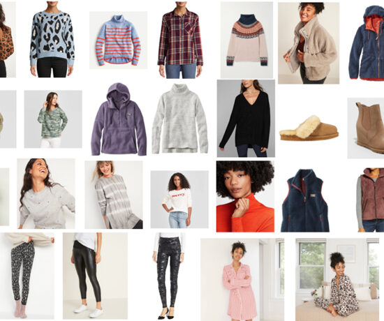 Cozy looks for winter and the holidays. Women's Fashion. Annie Johnson - Design Love Life.