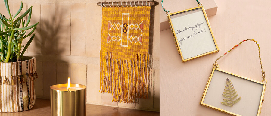 Gifts for the Nester or home with Noonday collection.