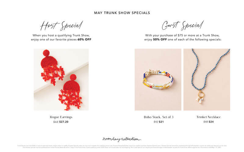 May Specials and Sales. Unique Handmade Gifts by handcrafted Artisans from around the world. Great ideas for any mama's in your life with Noonday Collection and Annie Johnson | Design Love Life.