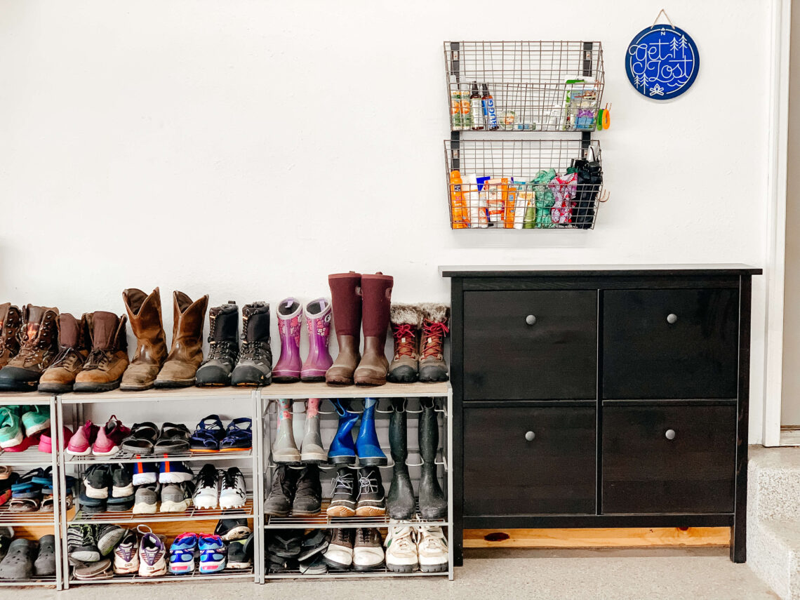 Try these garage storage ideas and organize clutter much easier. These organizing hacks will help you to keep everything neat and clean. Annie Johnson   Design Love Life