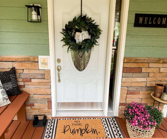 Front Door Decor Ideas for Fall. Annie Johnson | Design Love Life