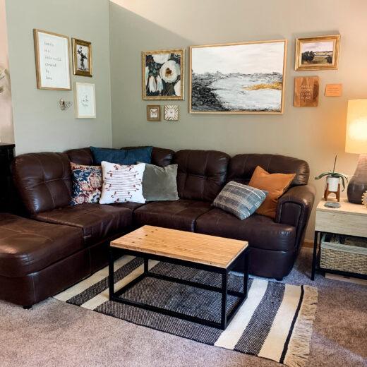 Living Room Decor Ideas - Wall Decor Edition. Lift Spirits and Brighten your Walls. Annie Johnson | Design Love Life