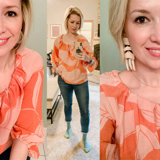 Check out my casual and floral look for the week. Warm or cool outside, this look will get you what you want. Annie Johnson   Design Love Life