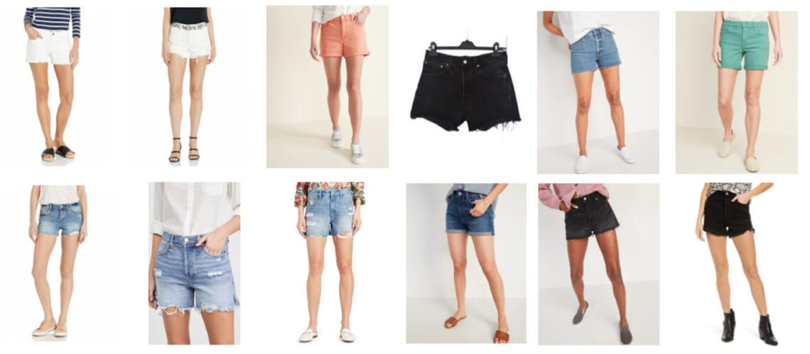 Get your shorts on for warmer weather. Shop top trending shorts for summer! Annie Johnson | Design Love Life